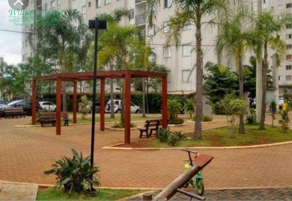 Apartamento com 2 dormitórios para alugar, 47 m² por R$ 1.000/mês - Cocaia - Guarulhos/SP