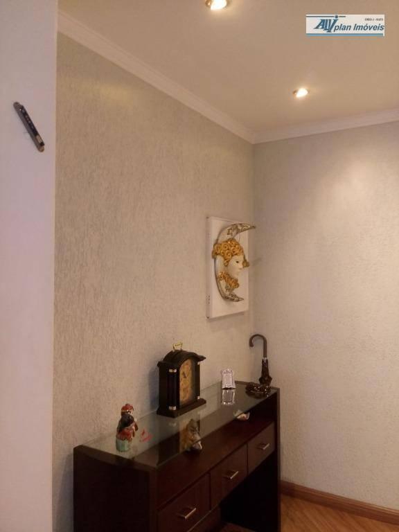 apartamento em santos, bairro campo grande, 2 dormitórios,piso laminado, armário,3 dormitórios revertido, sala 2 ambientes, ar...