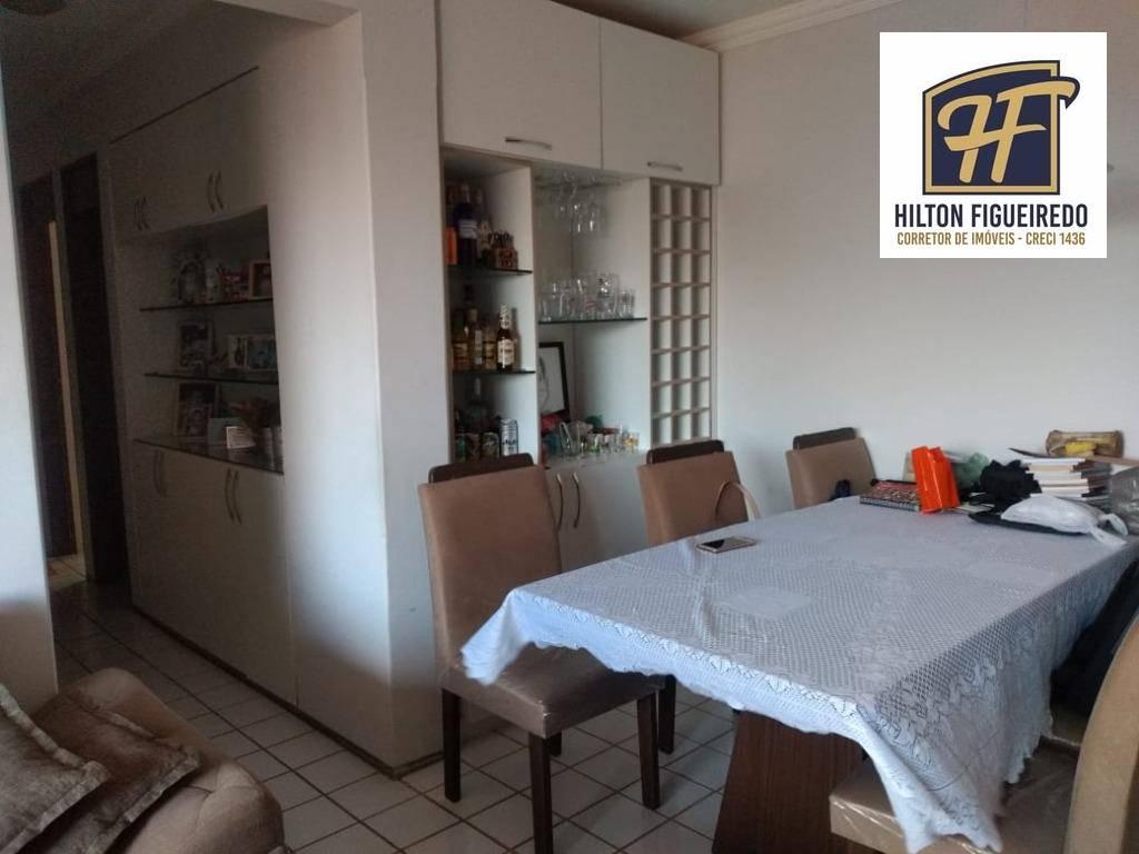 Apartamento à venda, 105 m² por R$ 288.000,00 - Intermares - Cabedelo/PB