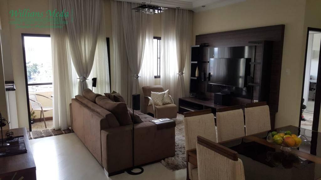 Apartamento com 2 dormitórios à venda, 72 m² por R$ 330.000 - Vila Rosália - Guarulhos/SP