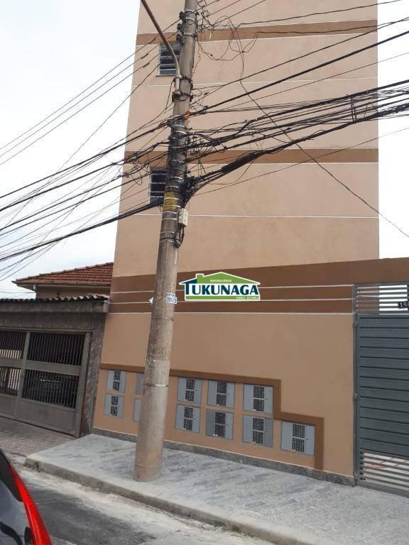 Apartamento com 1 dormitório para alugar por R$ 1.100/mês - Tucuruvi - São Paulo/SP