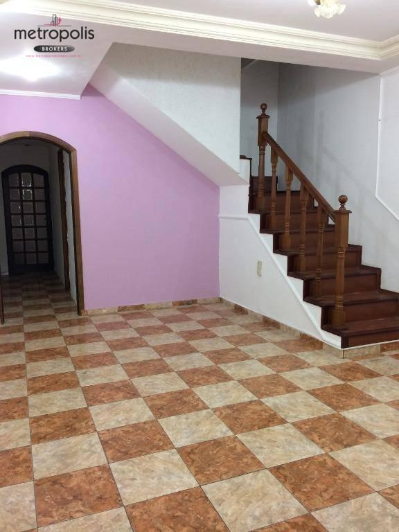 Sobrado residencial à venda, Santa Paula, São Caetano do Sul