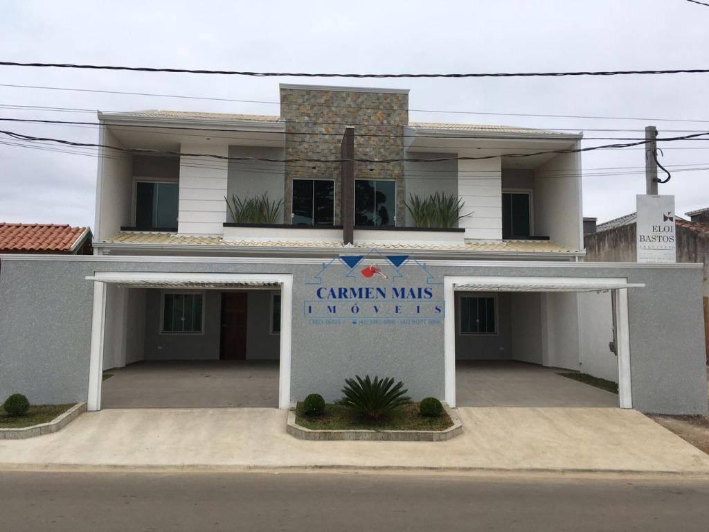 Sobrado residencial à venda, Jardim Bom Jesus dos Passos, Piraquara.