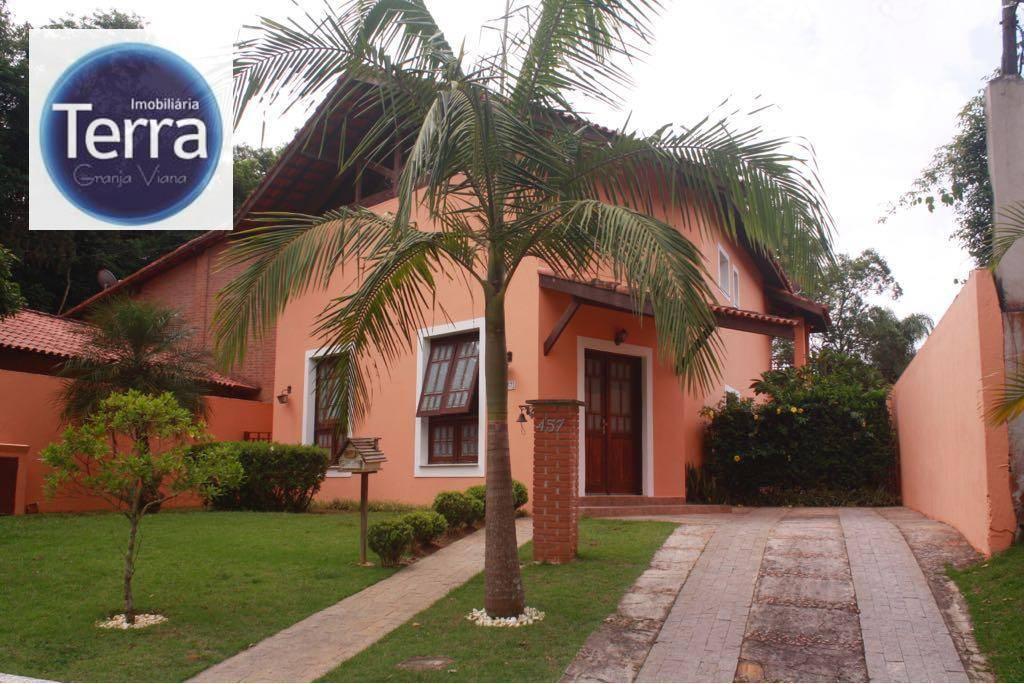 Casa com 3 dormitórios à venda, 317 m² por R$ 690.000 - Vila Verde - Granja Viana