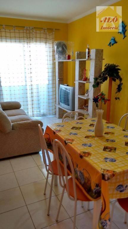 Apartamento com 1 dormitório à venda, 42 m² por R$ 180.000,00 - Balneário Maracanã - Praia Grande/SP