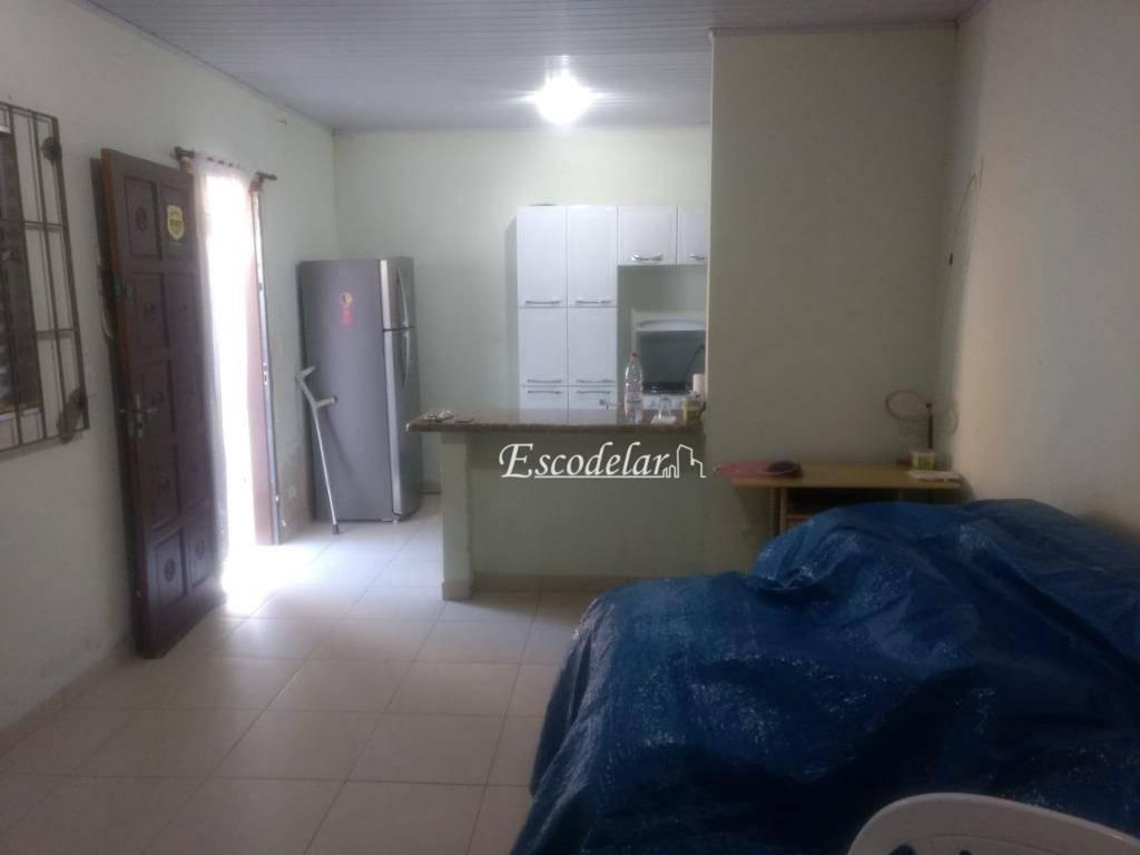 Kitnet residencial à venda, Caiçara, Praia Grande, 32 m², 01 Dormitório.