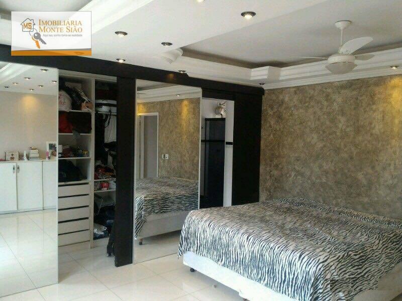 Lindo Sobrado, com Hidromassagem e Closet, PRONTO PARA MORAR no Parque Industrial Cumbica, 3 dorm, 1 suíte, 2 vagas.