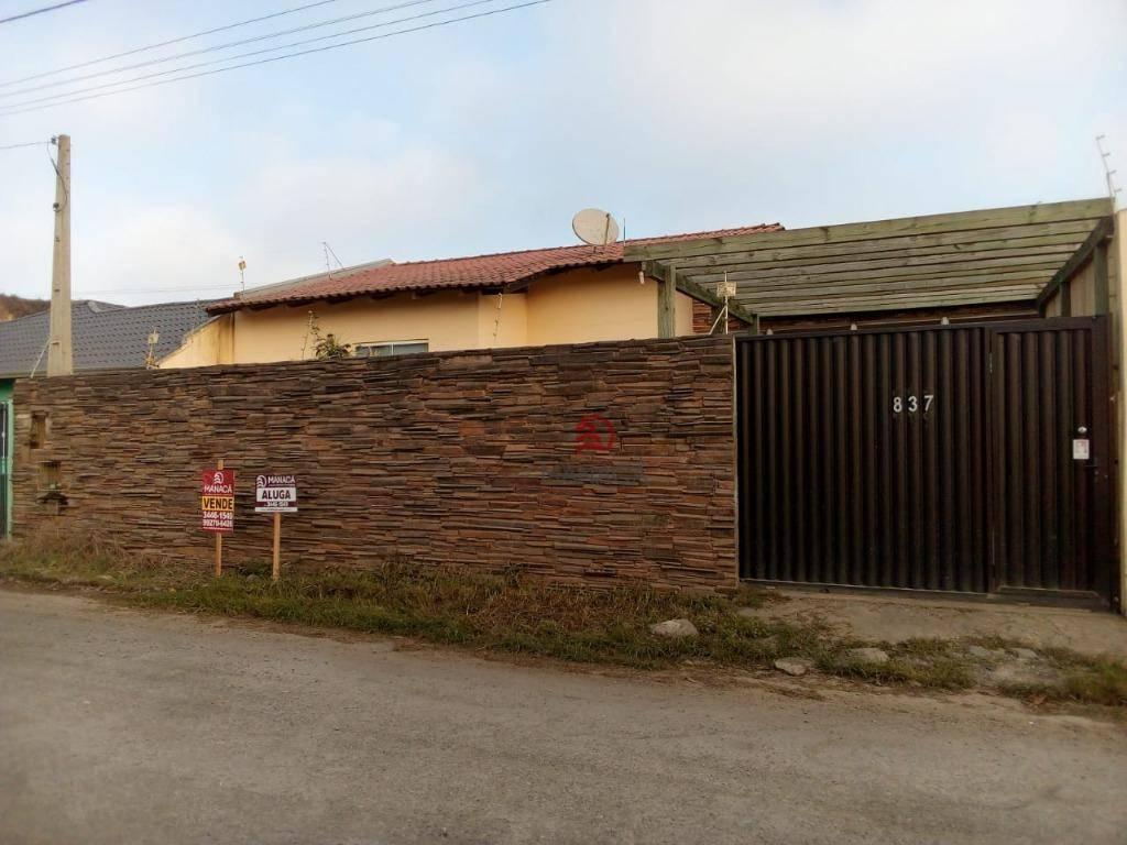 Casa com 2 dormitórios à venda, 107 m² por R$ 310.000,00 - Itacolomi - Balneário Piçarras/SC