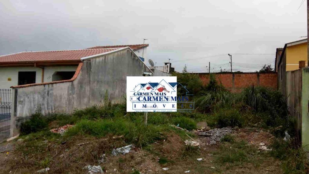 Terreno à venda, 200 m² por R$ 80.000 - Tatuquara - Curitiba/PR