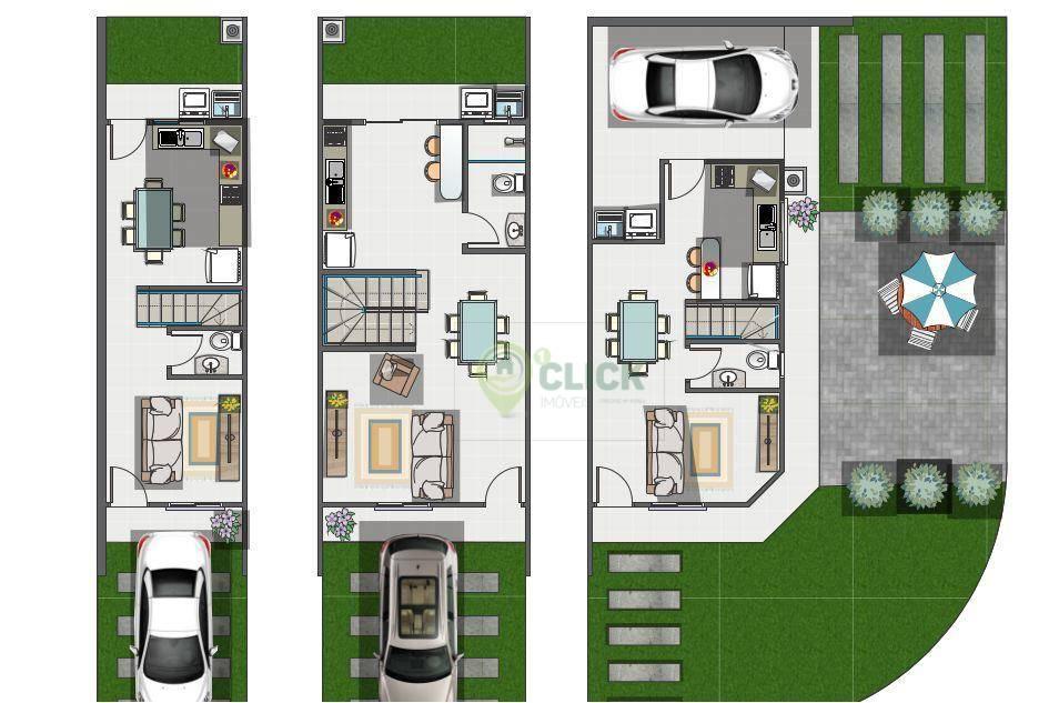 Casa Joinville Vila Nova 2133605