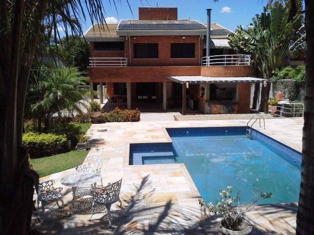 Casa 5 Dorm, Condomínio Rio das Pedras, Campinas (CA1383)
