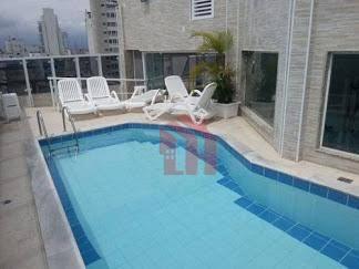 Flat à venda, 36 m² por R$ 213.000,00 - Gonzaga - Santos/SP