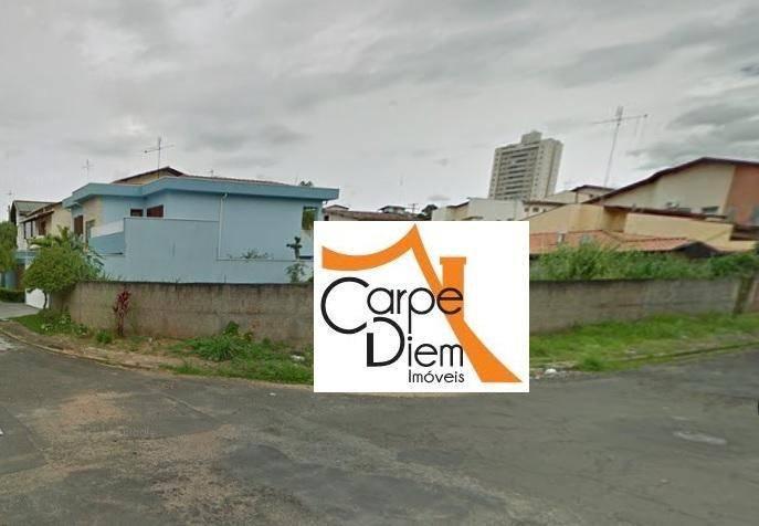 Terreno, Jardim Chapadão, Campinas (TE0618)