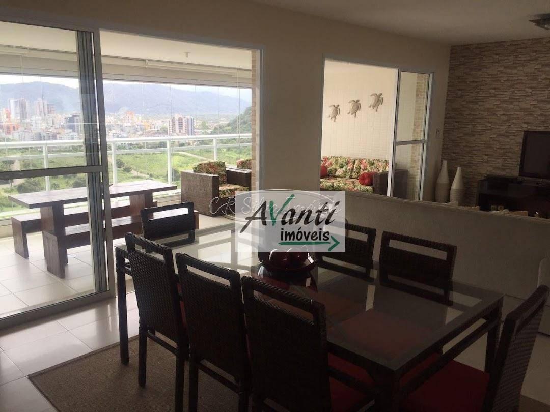 Apartamento à venda, 158 m² por R$ 1.175.000,00 - Balneário Praia do Pernambuco - Guarujá/SP