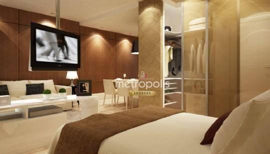 Loft com 1 dormitório à venda, 50 m² por R$ 365.000 - Jardim do Mar - São Bernardo do Campo/SP