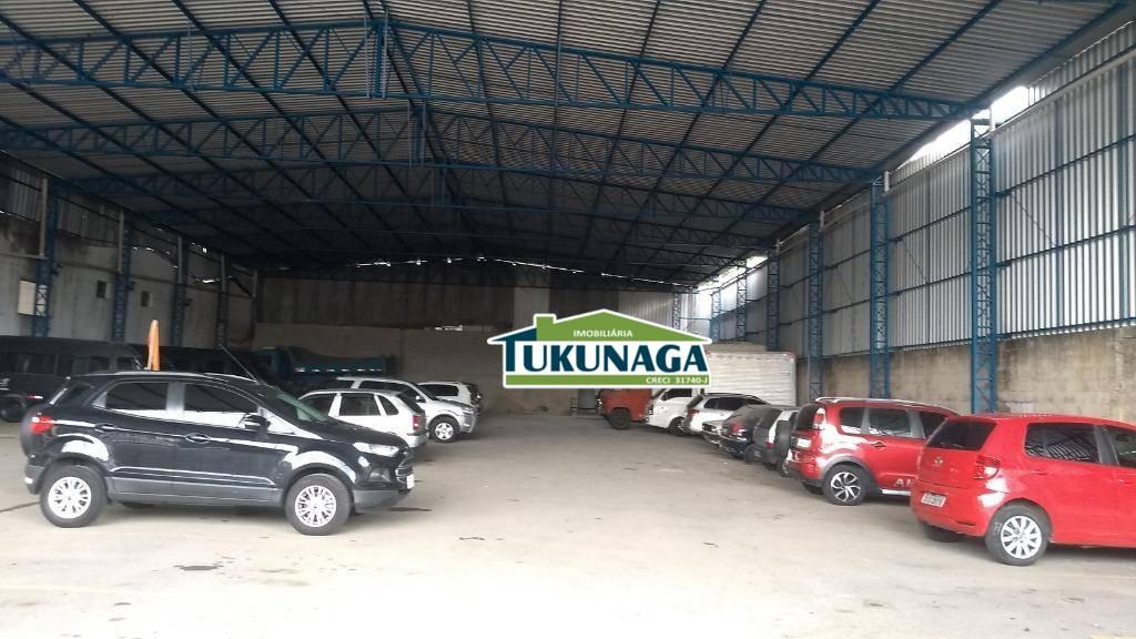 Galpão para alugar, 1200 m² por R$ 10.000,00/mês - Vila Galvão - Guarulhos/SP