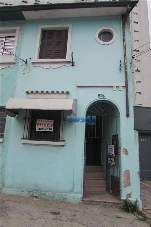 Sobrado residencial para locação, Mooca, São Paulo.