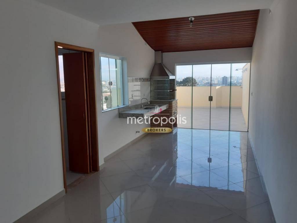 Cobertura com 2 dormitórios à venda, 123 m² por R$ 410.000 - Parque das Nações - Santo André/SP