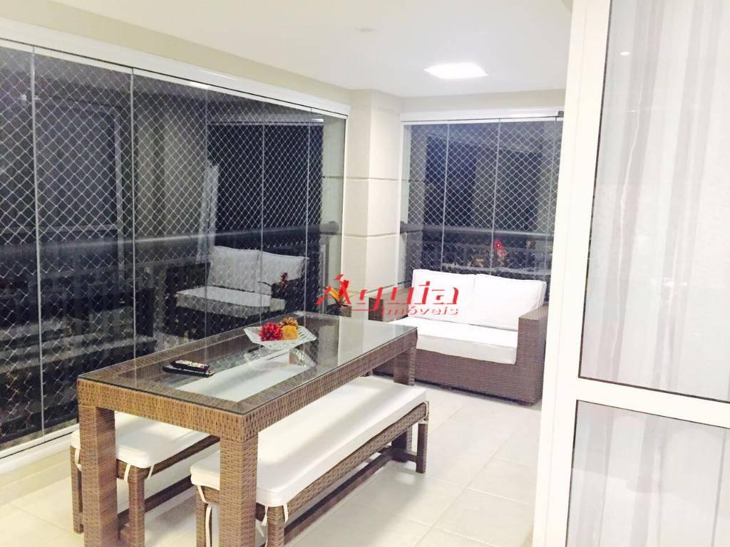 Apartamento com 3 dormitórios à venda, 153 m² por R$ 1.275.000 - Campestre - Santo André/SP