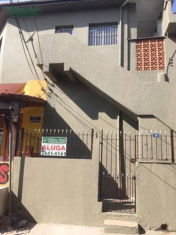 Casa residencial para locação, Jardim Testae, Guarulhos - CA0462.