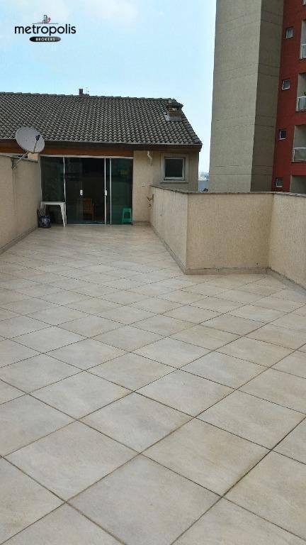 Cobertura com 3 dormitórios à venda, 210 m² por R$ 590.000,00 - Parque das Nações - Santo André/SP