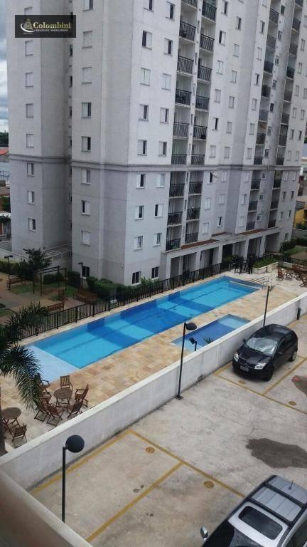 Apartamento com 2 dormitórios à venda, 55 m² - Vila Metalúrgica - Santo André/SP