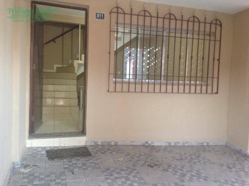 Sobrado com 2 dormitórios à venda, 106 m² por R$ 380.000 - Jardim Santa Mena - Guarulhos/SP