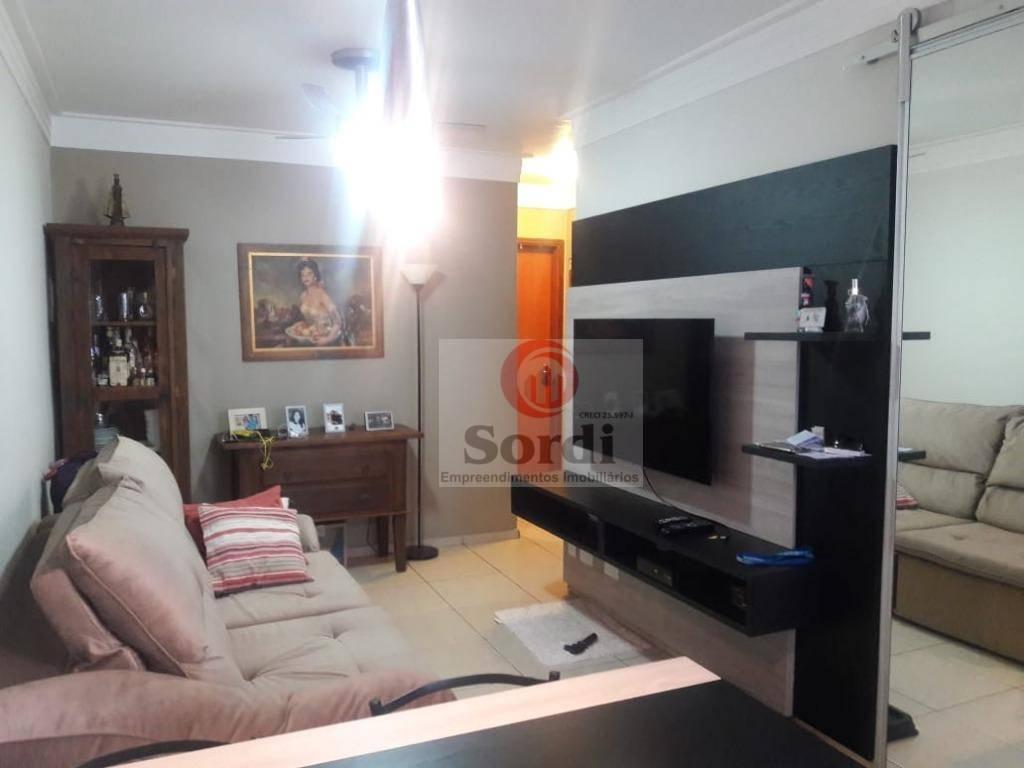 Apartamento com 3 dormitórios à venda, 65 m² por R$ 230.000 - Presidente Médici - Ribeirão Preto/SP