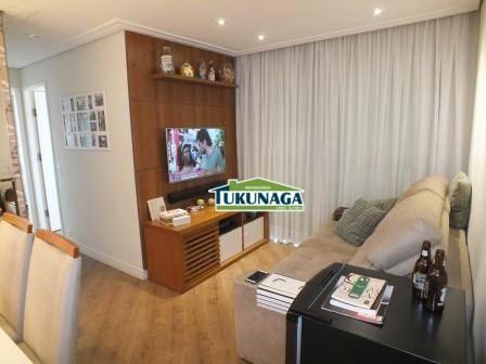 Apartamento 3 dormitórios - 65 m² - Ponte Grande - Guarulhos/SP