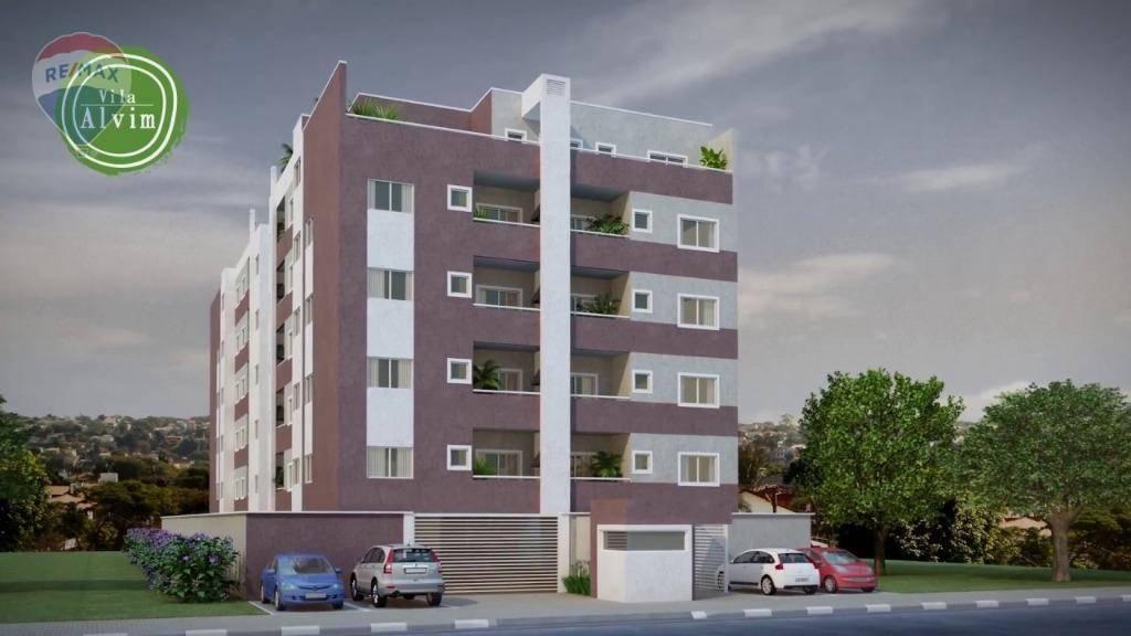 Cobertura à venda, 127 m² por R$ 507.000,00 - Alvinópolis - Atibaia/SP