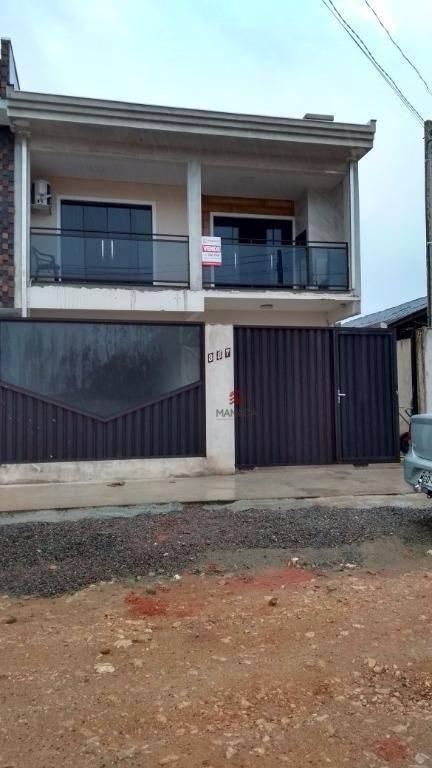 Sobrado residencial à venda, Centro, Barra Velha.