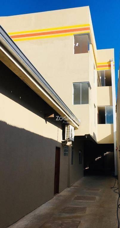 Apartamento com 2 dormitórios para alugar, 41 m² por R$ 1.100/mês - Mato Grosso - Porto Velho/RO