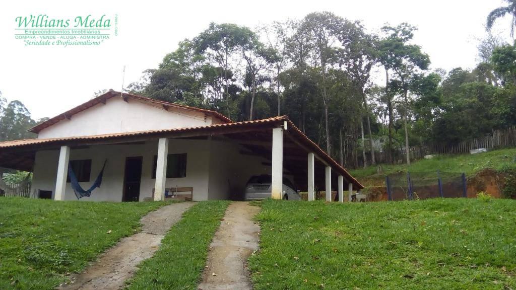 Chácara com 2 dormitórios à venda, 1800 m² por R$ 380.000 - São Bento - Arujá/SP