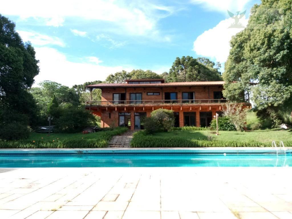 Chácara com 4 dormitórios à venda, 45.375 m² - Pinhais/Piraquara/PR