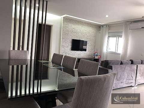 Apartamento com 3 dormitórios à venda, 139 m² por R$ 950.000 - Santa Maria - São Caetano do Sul/SP