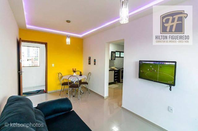 Apartamento com 2 dormitórios para alugar, 95 m² por R$ 1.550,00/mês - Camboinha - Cabedelo/PB