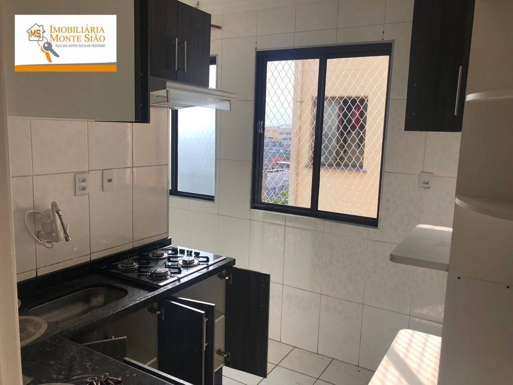 Oportunidade! Apartamento com Móveis Planejados em Cumbica