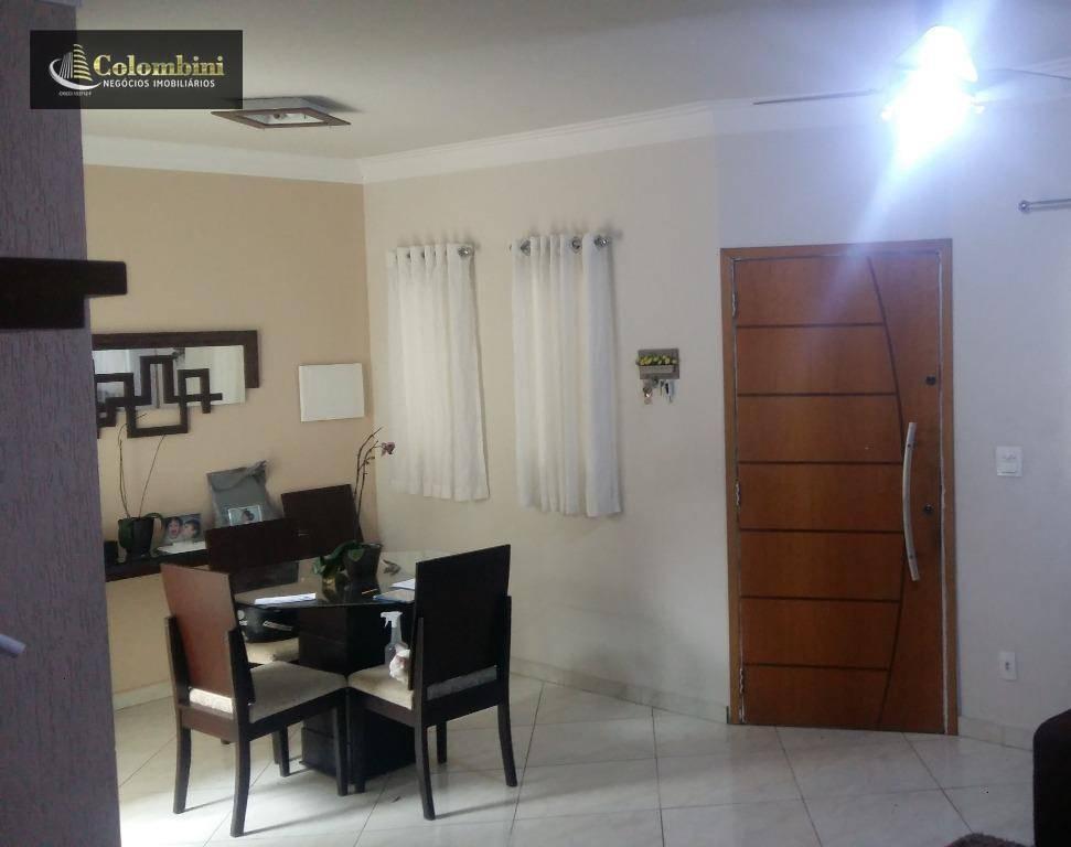 Sobrado residencial à venda, São José, São Caetano do Sul.