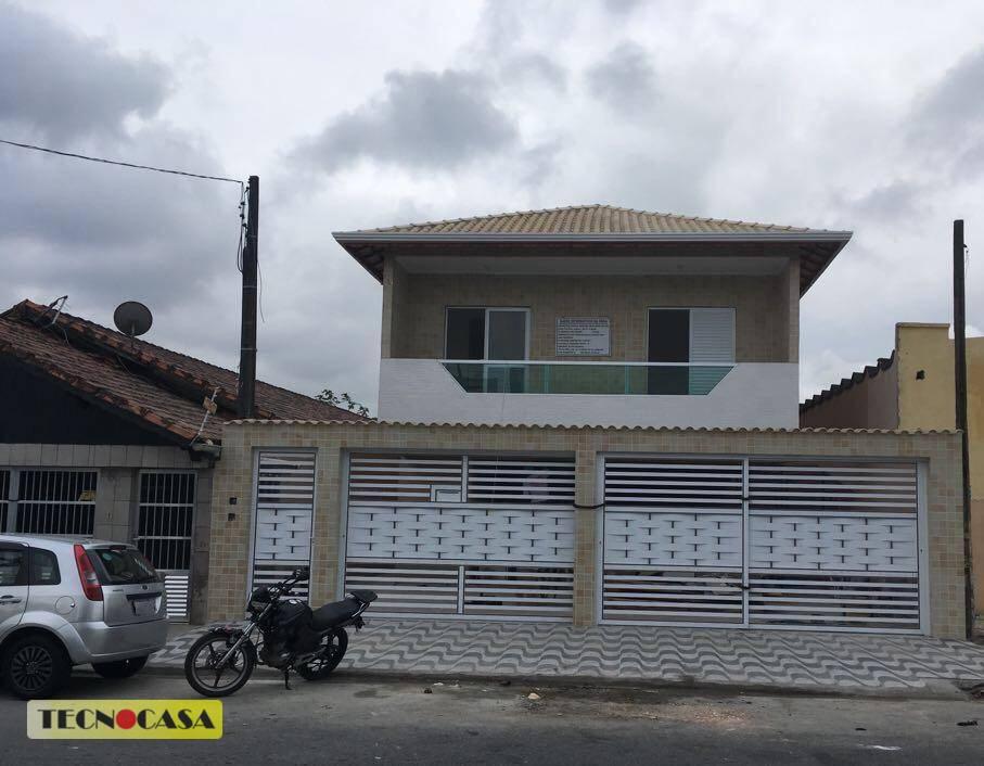 Casa Sobreposta Baixa em Condomínio à Venda, Jardim Quietude, Praia Grande.