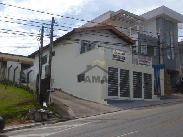 Casa comercial para locação, Jardim Itália, Vinhedo.