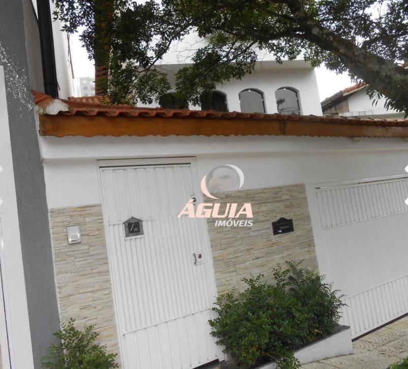 Sobrado com 3 dormitórios à venda, 198 m² por R$ 680.000,00 - Vila Valparaíso - Santo André/SP