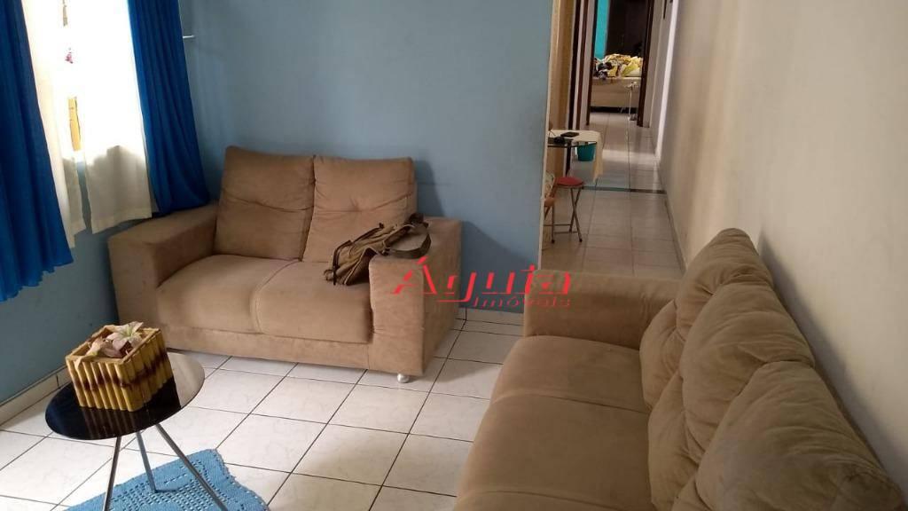 Casa com 3 dormitórios à venda, 174 m² por R$ 370.000 - Parque Novo Oratório - Santo André/SP