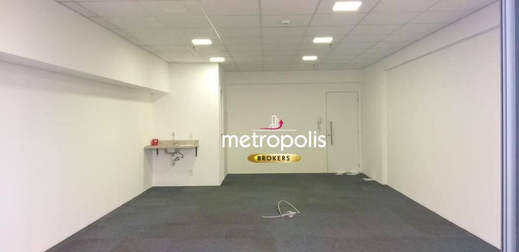 Sala para alugar, 43 m² por R$ 1.600/mês - Cerâmica - São Caetano do Sul/SP