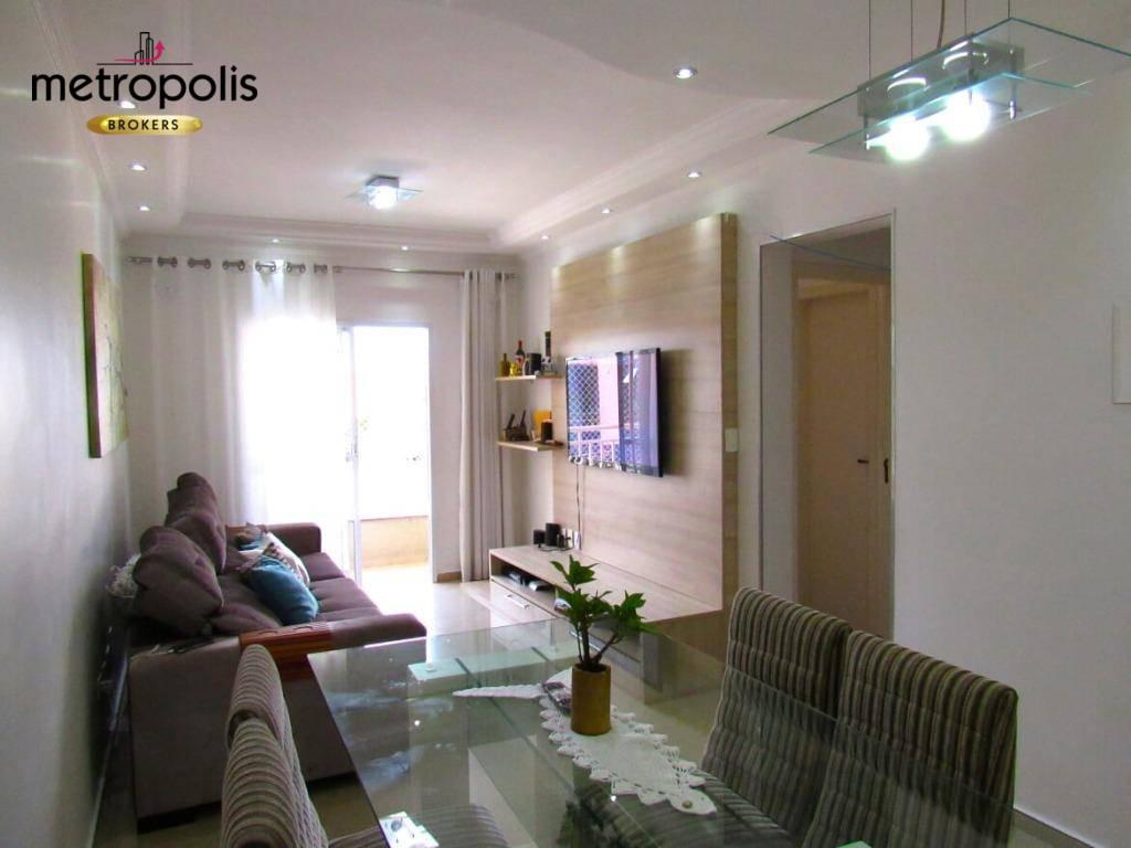 Apartamento à venda, 66 m² por R$ 480.000,00 - Olímpico - São Caetano do Sul/SP