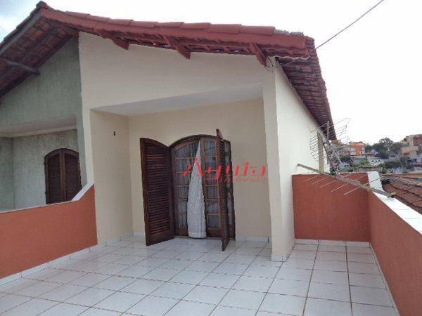 Sobrado residencial à venda, Jardim Santo Alberto, Santo André.