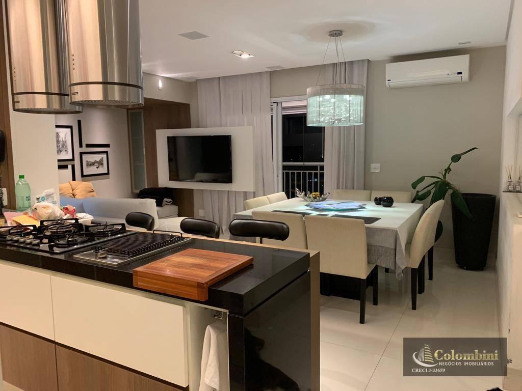 Apartamento com 3 dormitórios à venda, 96 m² por R$ 690.000 - Boa Vista - São Caetano do Sul/SP