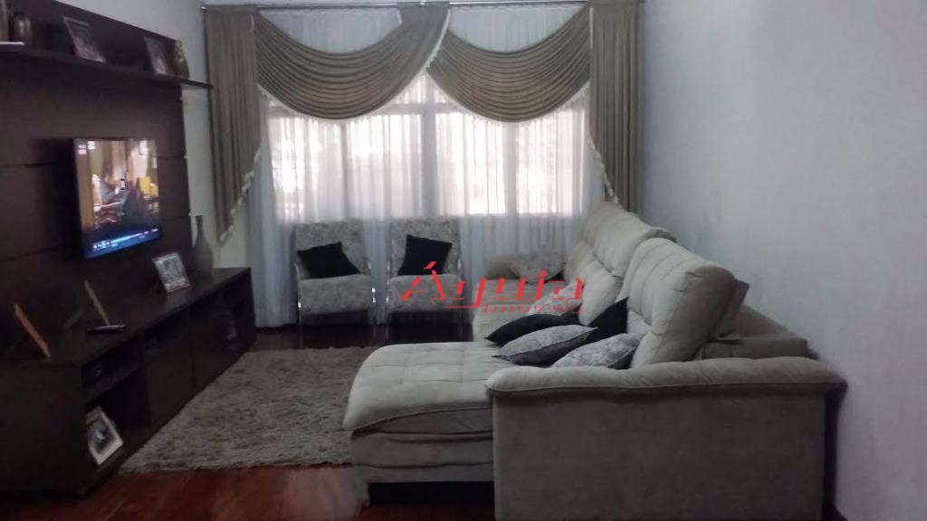 Sobrado  residencial à venda, Vila Tibiriçá, Santo André.