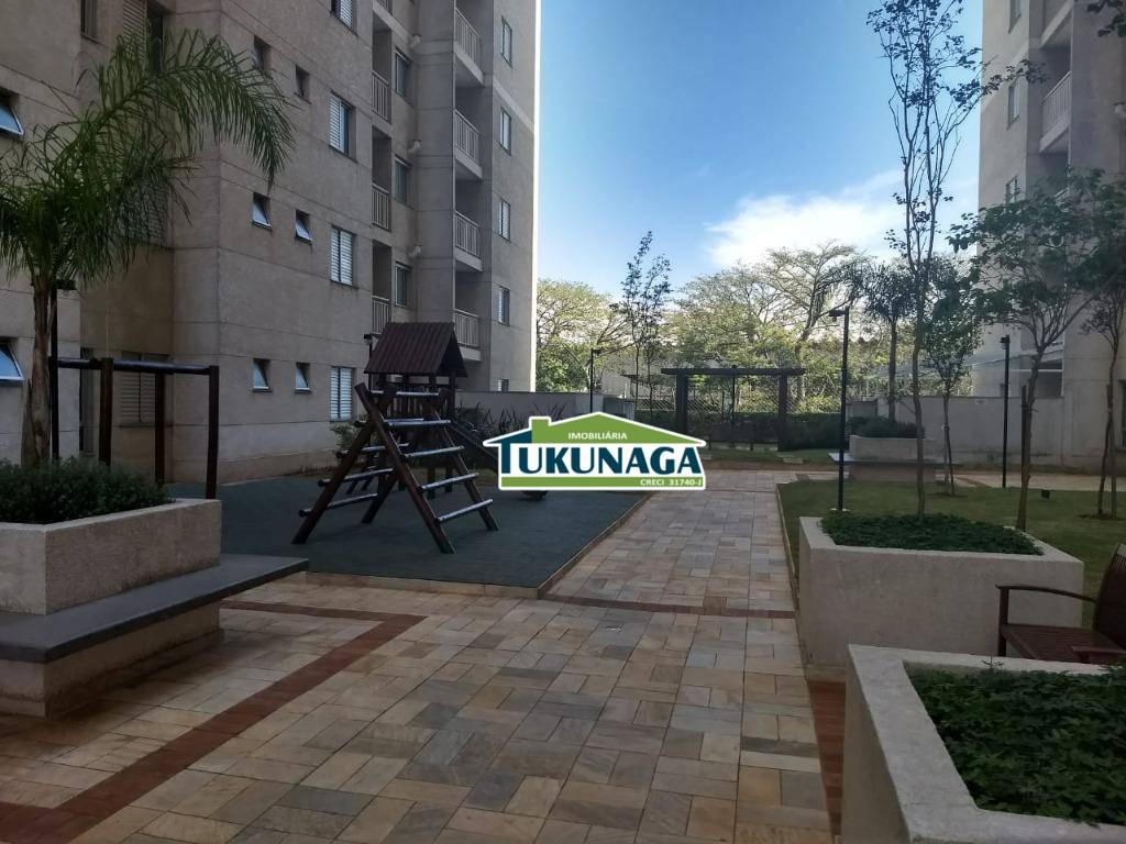 Apartamento residencial para locação, Vila Monteiro Lobato, Guarulhos.