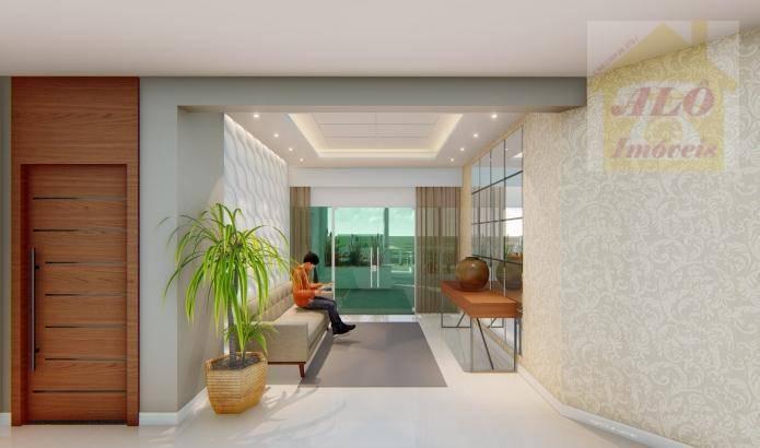 Apartamento à venda, 67 m² por R$ 366.498,00 - Vila Atlântica - Mongaguá/SP