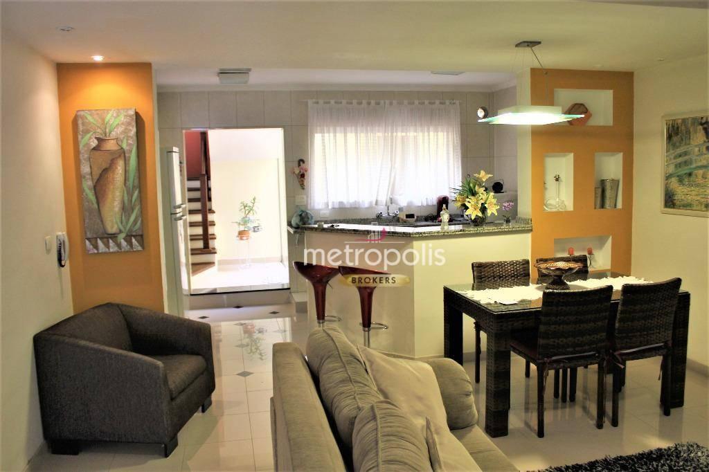 Sobrado com 3 dormitórios à venda, 188 m² por R$ 0 - Cerâmica - São Caetano do Sul/SP